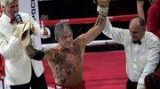 62-letni Mickey Rourke wygrał walkę bokserską