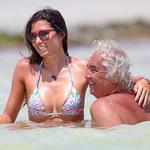 63-letni Flavio Briatore przyłapany na czułościach z piękną żoną
