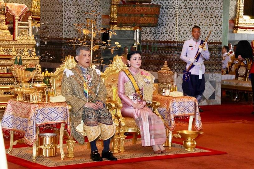 64-letni Maha Vajiralongkor i królowa Suthida /Committee coronation/POOL / MEGA /Agencja FORUM