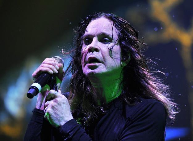 65-letni Ozzy Osbourne (Black Sabbath) w akcji - fot. Action Press /East News