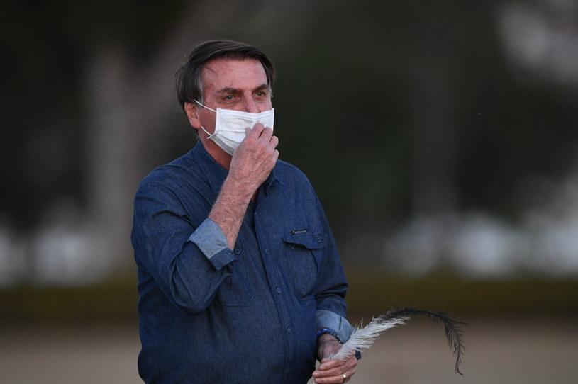 65-letni prezydent Brazylii Jair Bolsonaro /EVARISTO SA /AFP