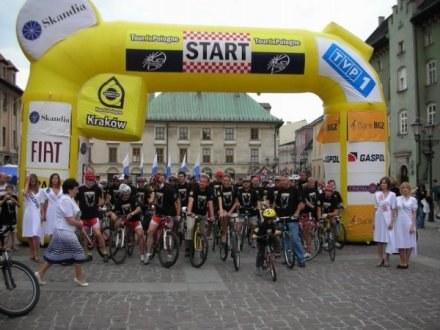 66. Tour de Pologne, jak przed rokiem, zakonczy się w Krakowie. /INTERIA.PL