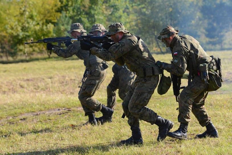 67 proc. Polaków popiera stacjonowanie w naszym kraju wojsk innych krajów NATO /Adam Staśkiewicz /East News
