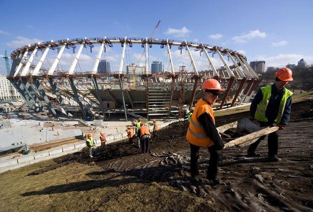 69 tysięcy widzów będzie mogło zasiąść na Stadionie Olimpijskim w Kijowie po modernizacji /AFP