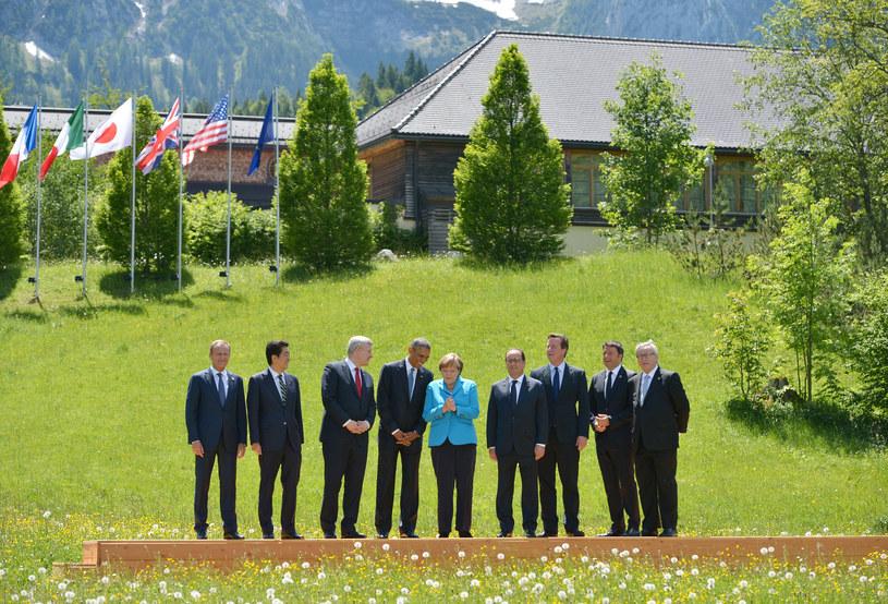 7-8 czerwca 2015, Szczyt G7 w Bawarii /MANDEL NGAN /AFP