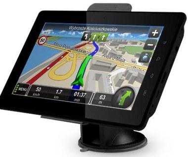 7-calowy tablet z GPS i DVB-T
