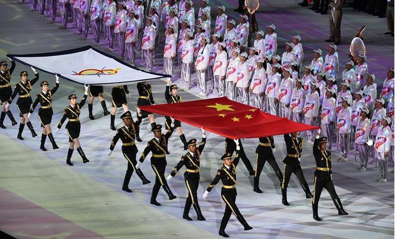 7. CISM Światowe Igrzyska Wojskowe w Wuhan rozpoczęto 18 października 2019 r. Wszystko wskazuje na to, że to na nich zaczął atakować koronawirus /AFP