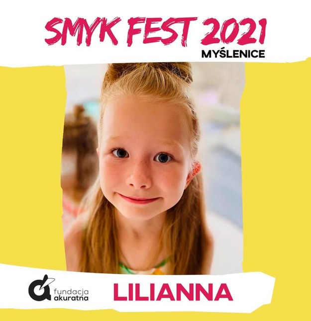 7-letnia Lilianka z Zasani /Fundacja Akuratna /
