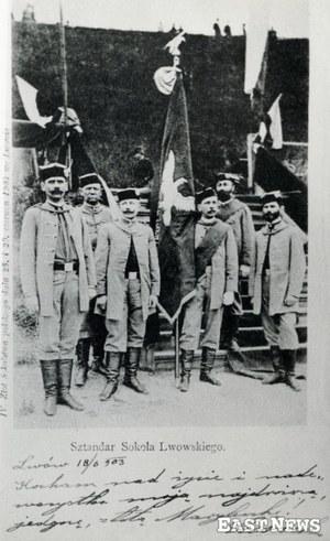"""7 lutego 1867 r. """"Sokół"""" założył gniazdo we Lwowie"""