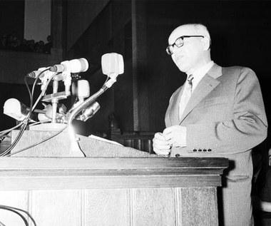 7 lutego 1968 r. Spotkanie Władysława Gomułki z Aleksandrem Dubczekiem