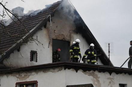 7-osobowa rodzina straciła dach nad głową /strzelecopolski.pl