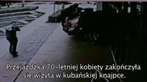 70-latka wjechała samochodem w budynek restauracji