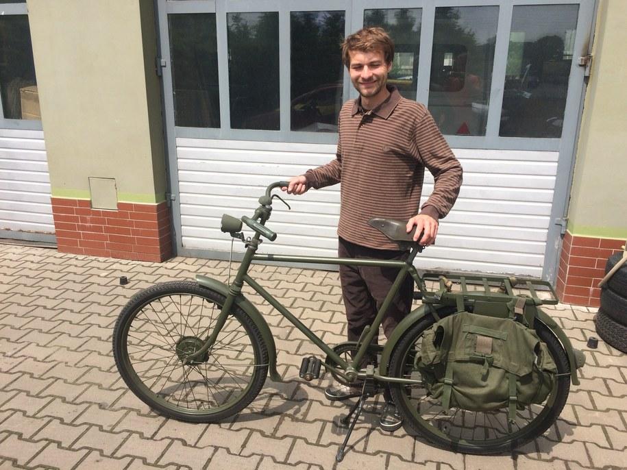 70-letni rower wojskowy /Adam Górczewski /RMF FM