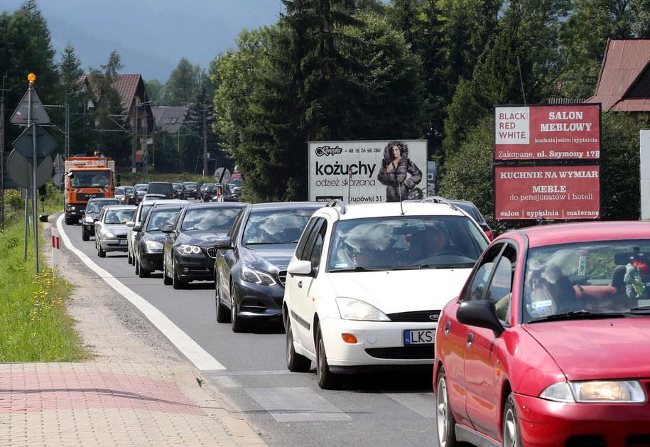 700 kierowców zatrzymanych na Gubałówce /Grzegorz Momot /PAP