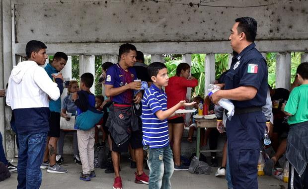 700 nielegalnych migrantów zatrzymanych w Meksyku