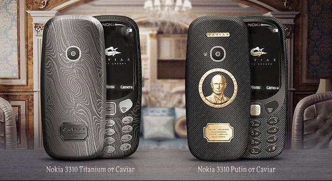 7000 złotych - tyle kosztują specjalne Nokie 3310 /materiały prasowe