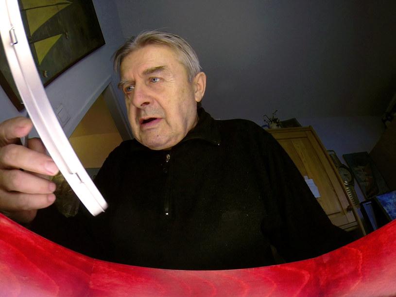 71-letni pan Wiesław /