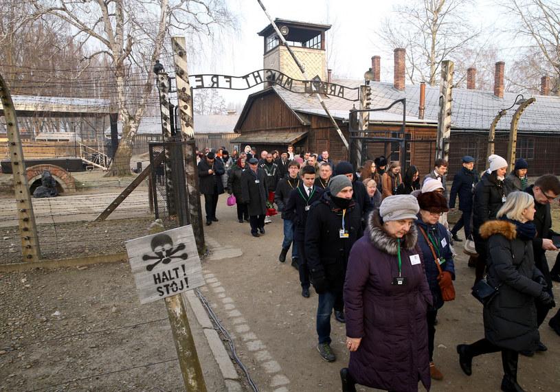 75. rocznica wyzwolenia Auschwitz /Damian Klamka /East News