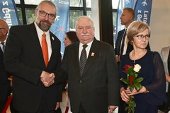 75. urodziny Lecha Wałęsy