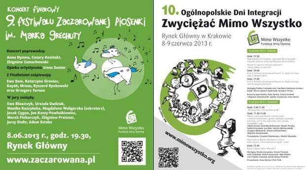 8 i 9 czerwca w Krakowie gwiazdy muzyki i sportu wystąpią z utalentowanymi osobami niepełnosprawnymi /materiały prasowe