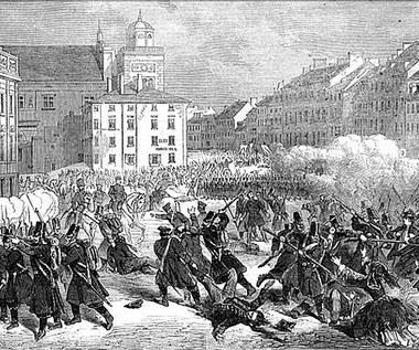 8 kwietnia 1861 r. Masakra na Placu Zamkowym