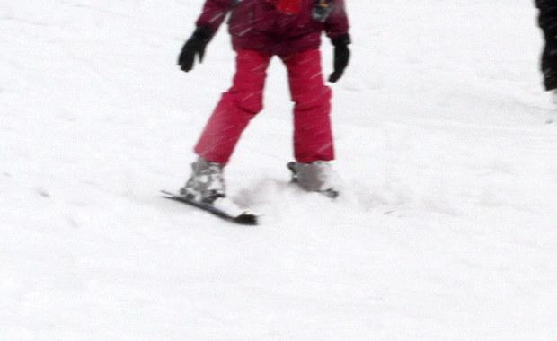 8-latka zderzyła się na stoku z narciarką. Policja szuka świadków