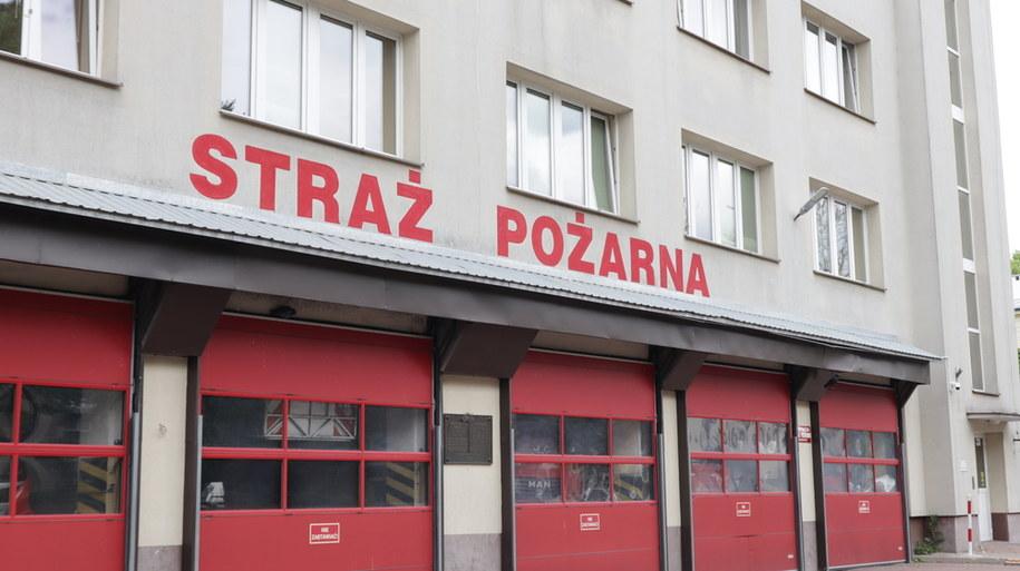 8-letni chłopiec wezwał straż, kiedy w domu wybuchł pożar /Piotr Szydłowski /RMF FM
