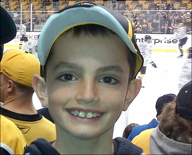 8-letni Martin Richard - jedna z ofiar zamachu /