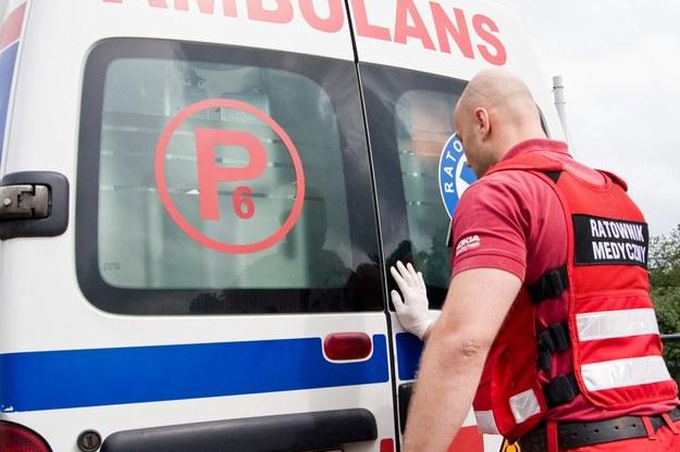 8 osób zostało rannych (zdjęcie ilustracyjne) /Katarzyna Huzarska /East News