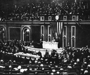 8 stycznia 1918 r. Prezydent Wilson zapowiada utworzenie niezawisłego państwa polskiego