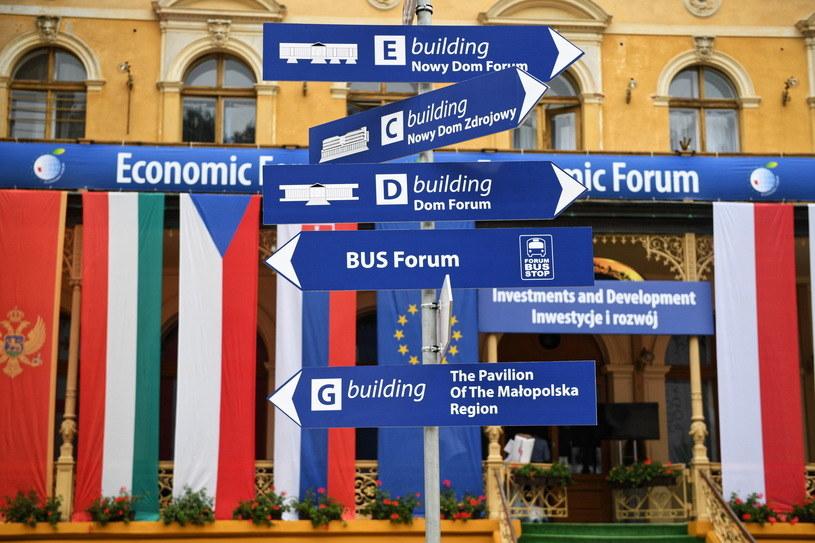 8 września rozpocznie się trzydniowe Forum Ekonomiczne w Krynicy. /Darek Delmanowicz /PAP