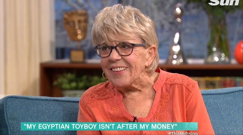 "80-letnia Iris Jones, fot. screen z programu ""This morning"" /"