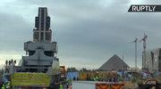 82-tonowy posąg Ramzesa II przetransportowany. Trafi do nowego Wielkiego Muzeum Egipskiego
