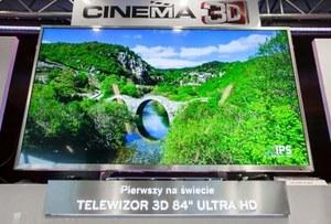 84 cale i 3D od LG dostępne w Polsce