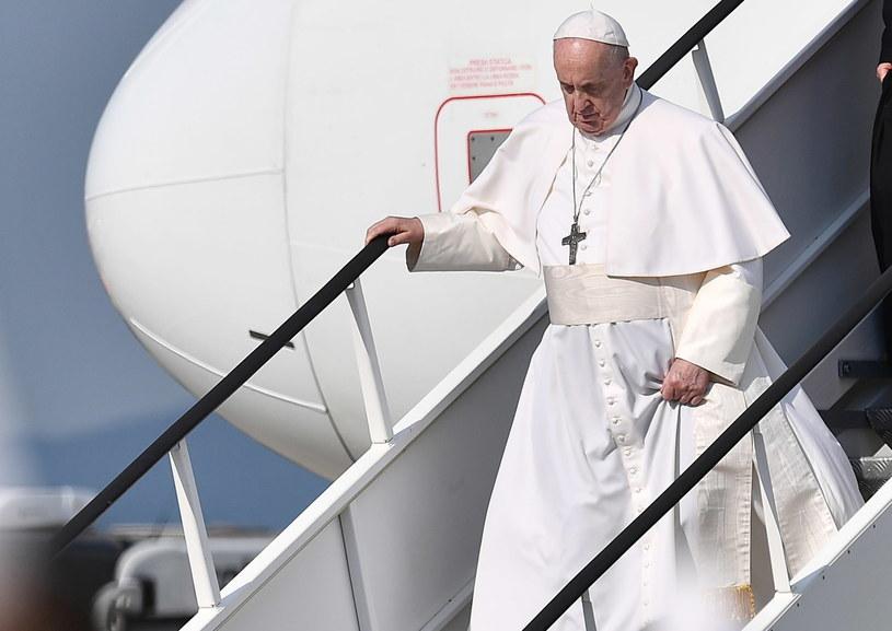 84-letni papież jest w bardzo dobrej formie. W marcu był w Iraku /EPA/LUCA ZENNARO  /PAP
