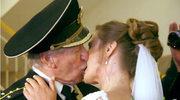 84-letni rosyjski aktor poślubił 24-latkę