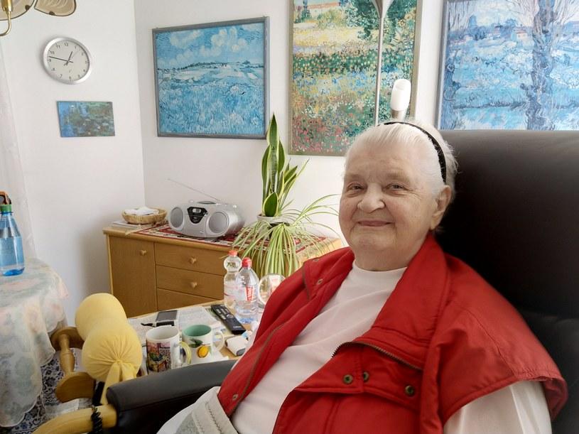 85-letnia Ilse von dem Bach - córka Bacha-Zelewskiego w  domu seniora Hans-Roser-Haus w Roth /Deutsche Welle