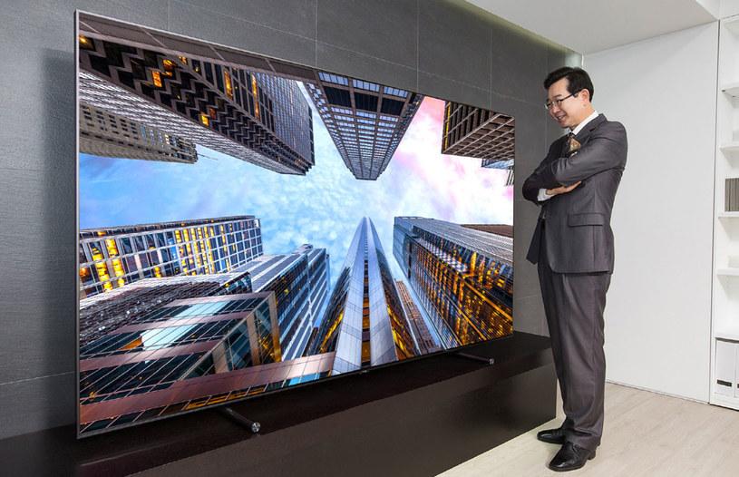 88-calowy Samsung Q9 /materiały prasowe