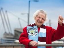 88-letnia babcia maskotką Manchesteru City