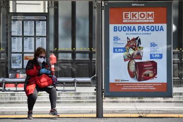 """880 nowych zakażeń we Włoszech.""""Krzywa epidemiczna zaczyna spadać"""""""