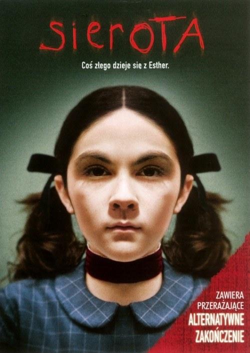 """9-letnia Isabelle Fuhrman na plakacie """"Sieroty"""" /materiały prasowe"""