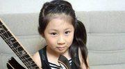 9-letnia Japonka wymiata na gitarze
