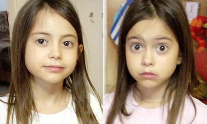 9-letnie siostry /foto. Grecka telewizja /