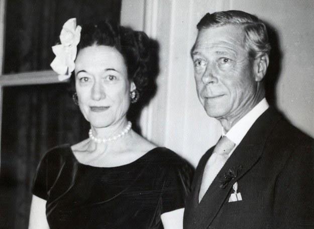 9 listopada 1959 roku - Edward VIII z żoną Wallis Simpson na przyjęciu w Paryżu /Agencja FORUM