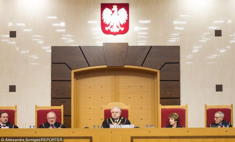9 marca 2016 roku, Ogłoszenie wyroku Trybunału Konstytucyjnego ws. ustawy o TK /Aleksandra Szmigiel-Wisniewska/REPORTER /East News