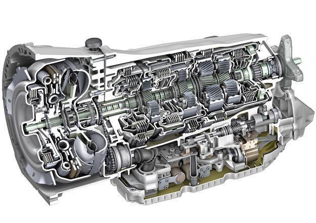 9-stopniowa skrzynia biegów Mercedesa /