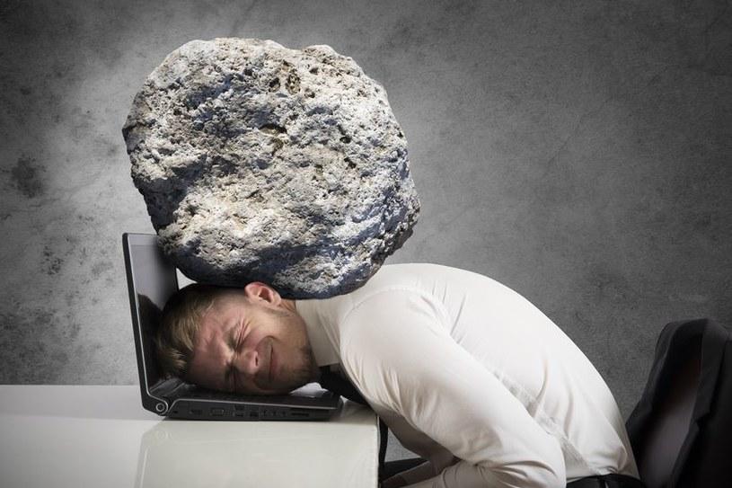 90 procent pracowników banków przyznało, że praca jest dla nich dużym źródłem stresu /123RF/PICSEL