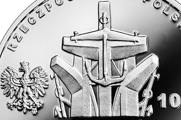 90. rocznica urodzin Anny Walentynowicz, 10 zł, detal awersu /NBP