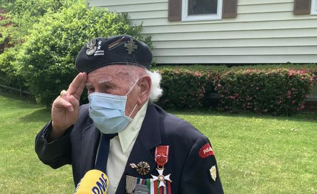 95-letni weteran spod Monte Cassino: Kochajcie Polskę. To jest nasza Ojczyzna