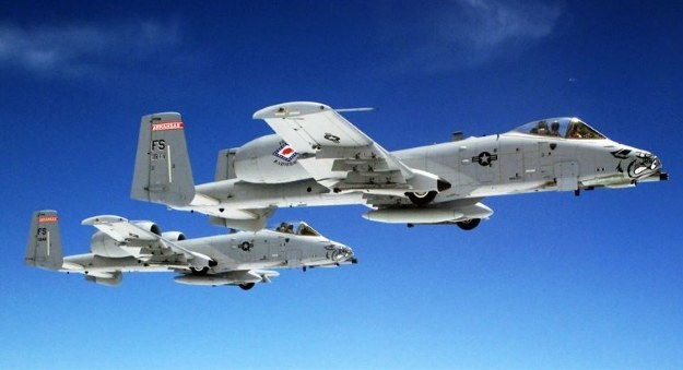A-10      Fot. DOD photo/Senior Airman Sierra Dopfel /materiały prasowe